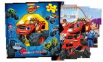 Blaze i Megamaszyny Książka z puzzlami