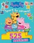 Świnka Peppa 525 naklejek Sport to zdrowie!