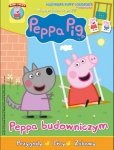 Świnka Peppa magazyn 7/2017 Peppa budowniczym + huśtawka Peppy i Geroge'a