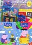 Świnka Peppa magazyn Wydanie specjalne zestaw 2 x DVD (Strach na wróble i Lot balonem) + PREZENT