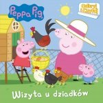 Świnka Peppa Odkryj i Czytaj Wizyta u dziadków
