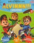 Alvin i wiewiórki 2 (50 naklejek)