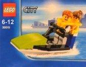 Scooby-Doo! Zestaw Wakacje z duchami - 2 książki + Lego City 30015