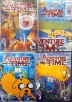 Adventure Time Pora na przygodę Zestaw Kolekcja filmowa cz.1+2+3 (DVD)