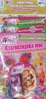Winx Club Zestaw - Kolorowanki i zabawy 3 szt + naszyjnik