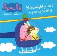 Świnka Peppa Książeczki z półeczki 61 Niezwykły lot z panią królik