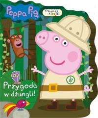 Świnka Peppa Przyjaciele z bajki Przygoda w dżungli!