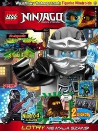 Lego Ninjago magazyn 10/2017 + nindroid
