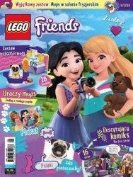 LEGO Friends magazyn 8/2018 + Mops w salonie fryzjerskim