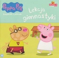 Świnka Peppa Książeczki z półeczki 35 Lekcja gimnastyki