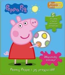 Świnka Peppa Piankowe układanki Poznaj Peppę i jej przyjaciół (puzzle)