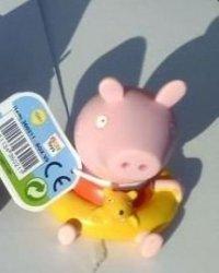 Świnka Peppa Na plaży z figurką do kąpieli Edycja limitowana