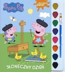 Świnka Peppa Malowany świat 2 Słoneczny dzień (z farbkami)