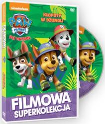 Filmowa Superkolekcja Psi patrol Kłopoty w dżungli DVD