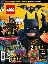 LEGO Batman Movie nr 1 + BATMAN i 2 batarangi