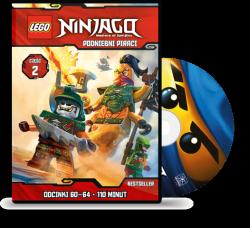 Cartoon Network Przedstawia 6/2017 + DVD LEGO Ninjago Podniebni piraci cz.2