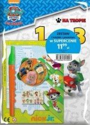 Psi Patrol Na tropie zestaw 2 książek edukacyjnych z prezentem