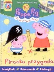 Świnka Peppa magazyn 7/2018 Piracka przygoda + kalejdoskop i płyta VCD Złote kalosze