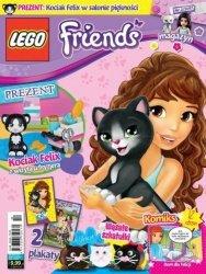 LEGO Friends magazyn 2/2017 + kot Felix