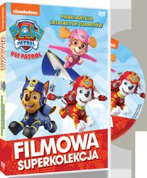Filmowa Superkolekcja Psi Patrol Pieski ratują latających Turbotów DVD