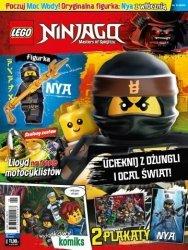 LEGO Ninjago magazyn 5/2018 + NYA