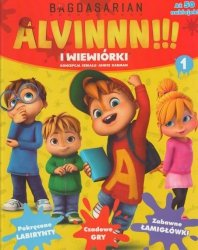 Alvin i wiewiórki 1 (z naklejkami)