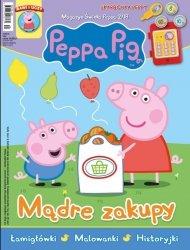 Świnka Peppa magazyn 2/2018 Mądre zakupy + skarbonka Peppy