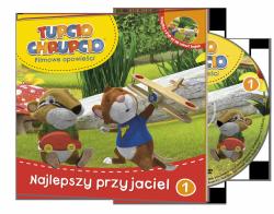 Tupcio Chrupcio Filmowe opowieści 1 Najlepszy przyjaciel (książka + DVD)