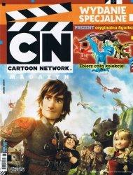 Cartoon Network Wydanie specjalne 1/2014 + figurka Jak wytresować smoka + karty Transformers