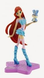 WinX Club Magia Sirenix 1 - figurka Bloom Trendy (z Kiko)