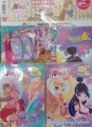 Winx Club Zestaw DVD 6.5 Mythix + 6.6 Magiczny totem + prezent