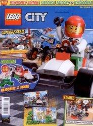 LEGO City magazyn 3/2018 + kierowca rajdowy z wyścigówką