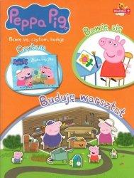 Świnka Peppa Bawię się, czytam, buduję 2 Buduję warsztat