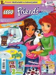LEGO Friends magazyn 1/2017 + Niedźwiadek w lodowej jaskini
