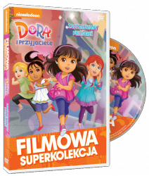 Filmowa Superkolekcja Dora i przyjaciele Zaczarowany pierścień DVD