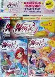 Winx Club Zestaw DVD 5.1 Podwodny świat + 5.2 Przyjaciółki na zawsze