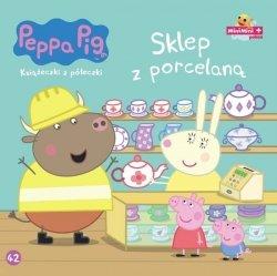 Świnka Peppa Książeczki z półeczki 42 Sklep z porcelaną