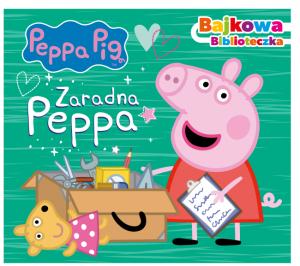 Świnka Peppa Bajkowa biblioteczka 3 Zaradna Peppa