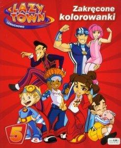 Lazy Town Leniuchowo Zakręcone kolorowanki 5