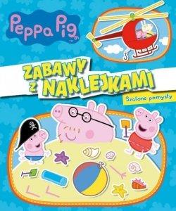 Świnka Peppa Zabawy z naklejkami 3 Szalone pomysły
