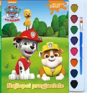 Psi Patrol Malowany świat 2 Najlepsi przyjaciele (z farbkami)