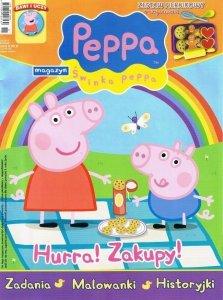 Świnka Peppa magazyn 10/2013 + zestaw piernikowy + VCD