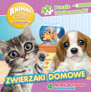 Animal Club Puzzle i kolorowanki Zwierzaki domowe
