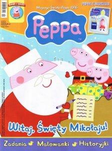 Świnka Peppa magazyn 10/2014 + PEPPA Z SANKAMI