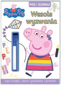 Świnka Peppa Pisz i ścieraj! 8 Wesołe wyzwania