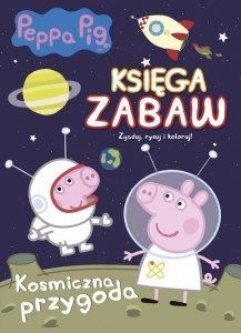 Świnka Peppa Księga zabaw 2 Kosmiczna przygoda