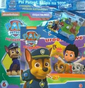 Psi Patrol zestaw Przyjęcie urodzinowe (3) + Ekipa na 102! + pojazd ratunkowy