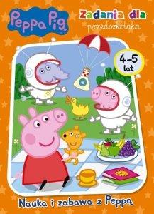 Świnka Peppa Zadania dla przedszkolaka 4-5 lat Nauka i zabawa z Peppą