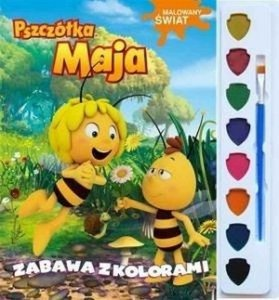 Pszczółka Maja Malowany Świat Zabawa z kolorami