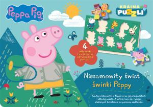 Świnka Peppa Kraina puzzli Niesamowity świat świnki Peppy